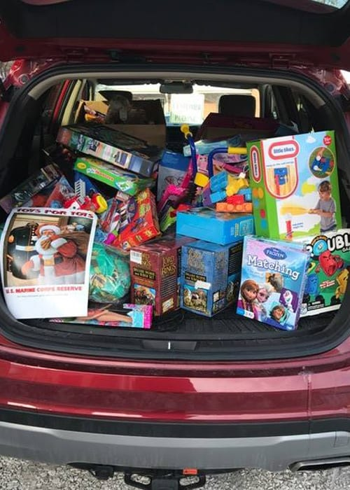 Toys for Tots Trunk